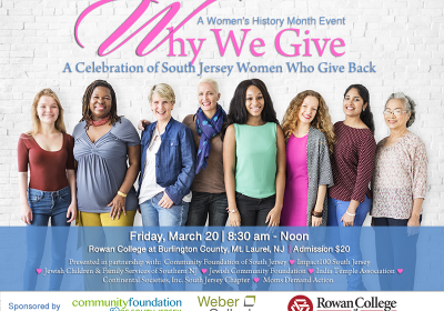 Why We Give:  A Gathering of SJ Women Making A Difference